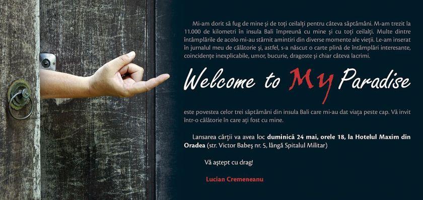 Invitatie Lucian Cremeneanu