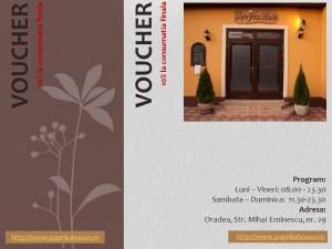 voucher Paprika House- concurs